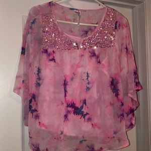 Pink Blouse. - Size 20 Girls